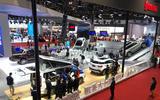 Shanghai motor show floor - lead