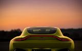 The rear of the Aston Martin Vantage