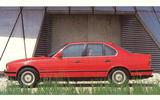 E34 BMW 5 Series side