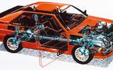 Audi Quattro diagram