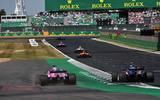 Silverstone Formula 1 racing