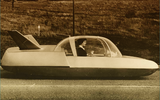 Atomic Simca Fulgur concept car of 1959 could drive itself