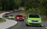 Skoda Citigo cornering