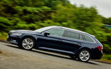 Skoda Superb Estate cornering