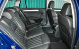 Skoda Superb Estate rear seats