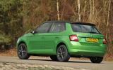 Skoda Fabia Colour Edition rear