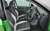 Skoda Fabia Colour Edition interior