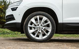 Skoda Karoq 1.5 TSI alloy wheels