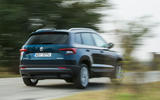Skoda Karoq rear cornering
