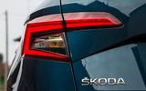 Skoda Karoq rear lights