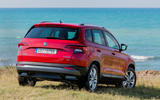 Skoda Karoq rear quarter