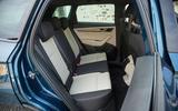 Skoda Karoq rear seats