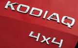 Skoda Kodiaq 4x4 Sportline 2018 UK review 4x4 badge