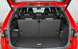 Skoda Kodiaq 4x4 Sportline 2018 UK review boot seats up