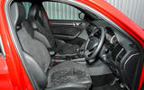 Skoda Kodiaq 4x4 Sportline 2018 UK review cabin