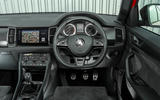 Skoda Kodiaq 4x4 Sportline 2018 UK review driving position