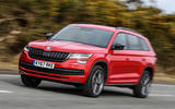 Skoda Kodiaq 4x4 Sportline 2018 UK review on the road