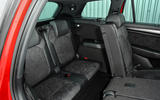 Skoda Kodiaq 4x4 Sportline 2018 UK review rear seats