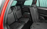Skoda Kodiaq 4x4 Sportline 2018 UK review rear seats