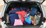 Skoda Kodiaq boot filled to the brim
