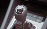 Skoda Octavia vRS diesel longterm review 245 gearstick