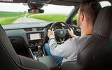 Skoda Octavia vRS diesel longterm review 245 Dan Prosser driving