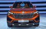 New Delhi Auto Expo 2020 - Skoda Vision IN nose