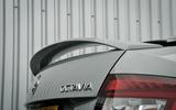 Skoda Octavia vRS 245 rear spoiler