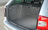 Skoda Octavia vRS estate boot