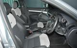 Skoda Octavia vRS estate front passenger and drivers seat