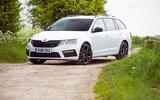 Skoda Octavia vRS long term exterior