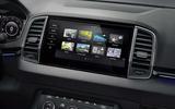 Skoda updates touchscreen