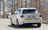 2019 Skoda Octavia estate spy shots