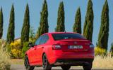 Skoda Octavia vRS 245 rear