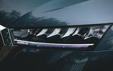 Britain's Best Car Awards 2020 - Skoda Octavia Estate headlights