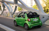 Smart Fortwo Cabriolet Electric Drive rear