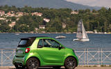 Smart Fortwo Cabriolet Electric Drive rear quarter