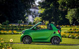 Smart Fortwo Cabriolet Electric Drive side profile