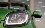 Smart Fortwo Cabriolet Electric Drive headlights