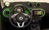 Smart Fortwo Cabriolet Electric Drive dashboard