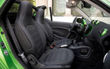 Smart Fortwo Cabriolet Electric Drive interior