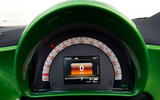 Smart Fortwo Cabriolet Electric Drive instrument cluster