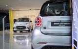 Smart EQ ForTwo at Frankfurt motor show - rear