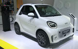 Smart EQ ForTwo at Frankfurt motor show - right