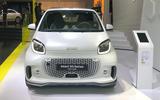 Smart EQ ForTwo at Frankfurt motor show - nose