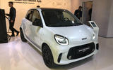 Smart EQ ForTwo at Frankfurt motor show - front