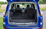 Ford S-Max extended boot space