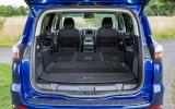 Ford S-Max fully extended boot space