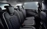 Ford S-Max Vignale rear seats