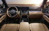 2020 Kia Sorento - static interior
